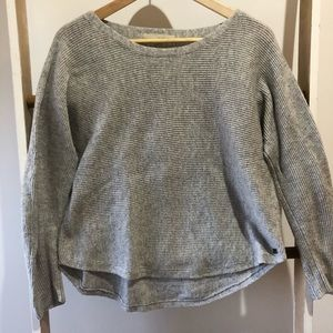 Monk and Lou Grey Sweater